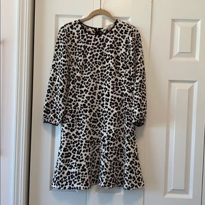 LOFT Leopard Dress - Size 0